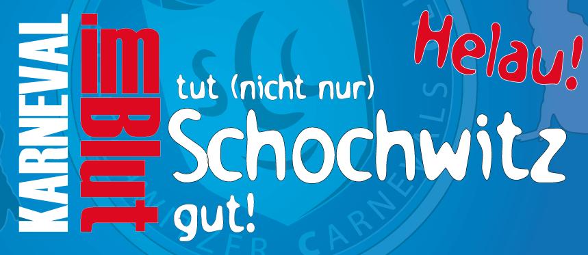 Karneval im Blut tut Schochwitz gut!!